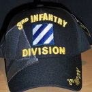 3rd INFANTRY DIVISION HAT - BLACK