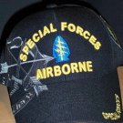 SPECIAL FORCES AIRBORNE CAP W/GREY SHADOW EMBROIDERY