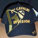 1st CAVALRY DIVISION HAT - BLACK