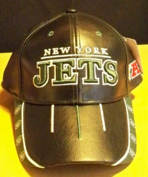 NFL LEATHER HAT - NY JETS