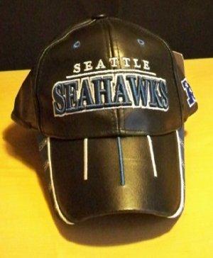 NFL LEATHER HAT - SEATTLE SEAHAWKS