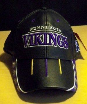 NFL LEATHER HAT - MINNESOTA VIKINGS