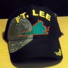 US ARMY HAT - BLACK - FT LEE VIRGINIA