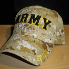 ARMY TEXT SHADOW CAP - DESERT DIGITAL CAMO