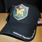 OPERATION IRAQI FREEDOM SHIELD SHADOW CAP - BLACK
