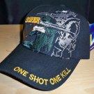 MARINE SNIPER CAP - BLACK