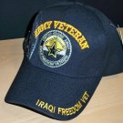 ARMY IRAQI FREEDOM VETERAN CAP - STAR W/SHADOW