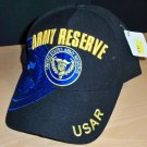 ARMY RESERVE CAP - BLACK W/BLUE SHADOW