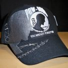 POW-MIA SHADOW CAP - BLACK