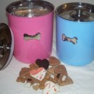 Gourmet Bakery Treat Filled Canister New Puppy Gift