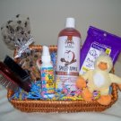 Day at the Spa Dog Grooming Gift Basket