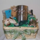 Lucky Purrs St. Patrick's Day Gift Basket for Cats