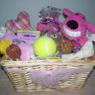 A MAXimum Puppy Gift Basket in Pink