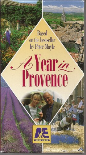 The Miniseries:  A Year in Provence (4 VHS Tape Set)
