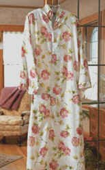 florl silk robe just for that special person mom or you