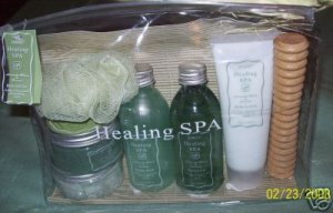 8p HEALING SPA WITH OLIVE OIL AVACADO LEMON ASK A GREEK