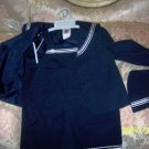 MY LITTLE NAVY CHILD 3PC SET NEW NAVY SUIT A MUST SEE