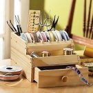 THIS GREAT WOOD BOX ORGANIZER IS GREAT FOR ALL THINGS