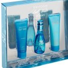 COOL WATER  3PC GIFT SET FOR WOMAN BY DAVIDOFF NIB