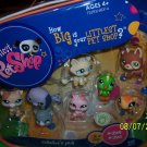 LITTLEST PETSHOP COLLECTORS SET 8PC FREE SHIPPING WITH BUY IT NOW PRICE NEW NEW