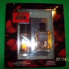Coty Musk 1.5oz Men's Eau de Cologne@2.0 AFTER SHAVE GIFT SET NEW FRE SHIP W/BU