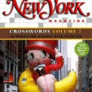 New York Magazine Crosswords by Maura Jacobson (2006, Hardcover, Spiral)