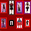 boys@girls costumes vampires@cats@pirates@witches@superheros@ninja NW FREE SHIP