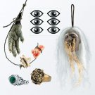 Pirates of the Caribbean: Jack Sparrow Cannibal Accessory Kit NEW FREE SHIPPING