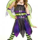 goth angel new girls costume complete with dress wings halo gloves great costume