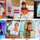 baby toddlers bib@bonnet costume bunny@clown@lion@scarecrow@ballerina@cat@pumpkn