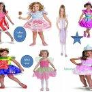 candyland/peppermint /fairys/gummybear/cottoncandy/lollipop costumes girls new