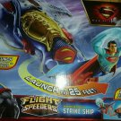 superman man steel flight ship 2 in1 vehical & launcher with superman figure NEW