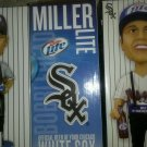3 NW White Sox  Miller Lite Vendor Bobblehead n box frm a real sox fan n chicago