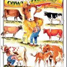 "Bob Bates ""Cow Country"" Americana TIN SIGN Print Poster"