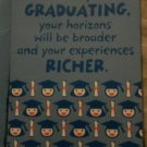 GRADUATION Musical Greeting Card: song WERE IN THE MONEY BY MARY CLOONEY