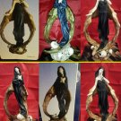 Gothic Dark Angel In Graveyard figurines mystical  NEW IN BOXES*