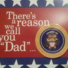 FATHERS DAY greeting card musical by hallmark new plays hail to the chief