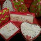 CHRISTMAS Holiday GIFT SET NECKLACE & EARRINGS  brooches jewelry 4 old or young