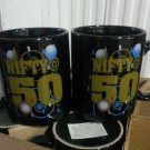 Nifty fifty coffee mug new use it 4 birthdays anniverserys retirement u choose