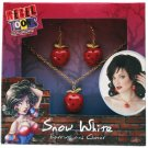 NEW REBEL TOONS SNOW WHITE Jewelry Set  Deluxe Womens Earrings Choker