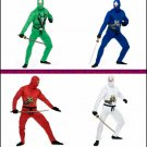 Men's  Ninja Adult Avengers Series II Costume MANY COLORS