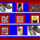 Hotmocs scarfs & foot warmers& beanies &  gaiters &heated comes with 2pk warmerS
