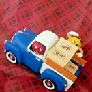 M&M Sweet Wheelin' Red's Garage Candy Dispenser New