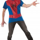 Adult The Amazing Spider Man 2 Muscle Shirt Costume Kit