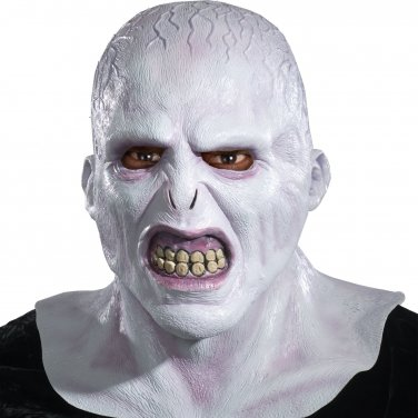 Harry Potter Voldemort Deluxe Adult Latex Mask new Officially Licensed