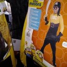 despicable me minions pirate costume childs size 4/6 new