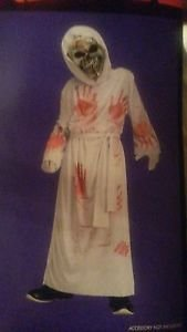 NWT Bleeding Grim Reaper Halloween dress-up costume child's med 8-10 NEW