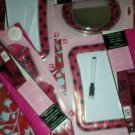 Locker DECOR by Totally Me PINK & BLACK ZEBRA HEARTS Decorat acce  NW
