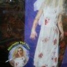 zombie bride costume new large 8-14 womans
