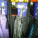 NEW  SPIDER WITCH DRESS HALLOWEEN COSTUME ADULT WOMEN  OSFM many colors